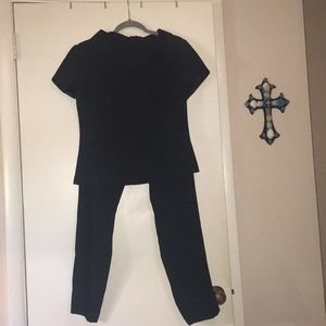 Sheri Martin New York black pant suit!